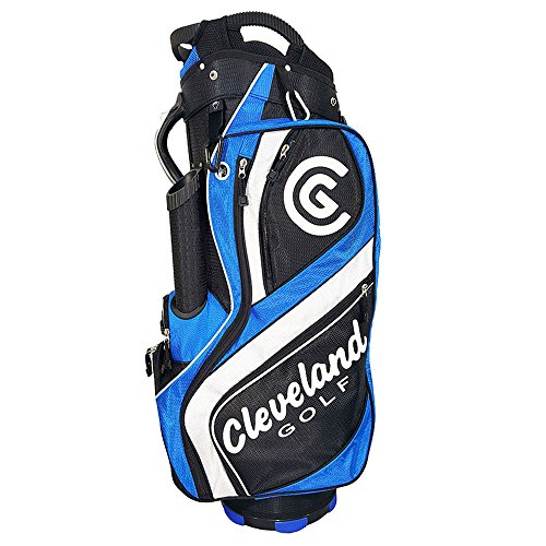 Cleveland Golf Male Cg Cart Bag Black/Blue/White