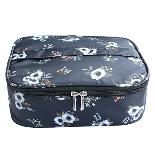 Portable Travel Makeup Cosmetic Bag Organizer Multifunction Case for Women (Color2) ¡­ by MKPCW
