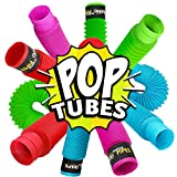 BunMo Pop Tubes Sensory Toy - 8 Pack