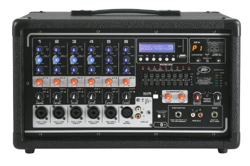 Peavey PVi 6500 400-Watt 5-Channel Powered Mixer -