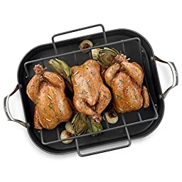 Calphalon Unison Nonstick 16-Inch Roaster with Rack