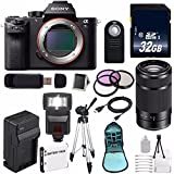 Sony Alpha a7S II a7S Mark II a7SII ILCE7SM2/B Mirrorless Digital Camera (International Model no Warranty) + Sony E 55-210mm f/4.5-6.3 OSS E-Mount Lens (Black) + 49mm Filter Kit 6AVE Bundle 112