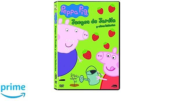 Peppa Pig: Juegos De Jardín Y Otras Historias [DVD]: Amazon ...