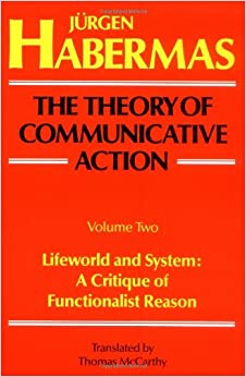 communicative action. essays on jurgen habermas The work of jürgen habermas has been key in social and educational research   in this essay, i focus on the concept of communicative action within the.
