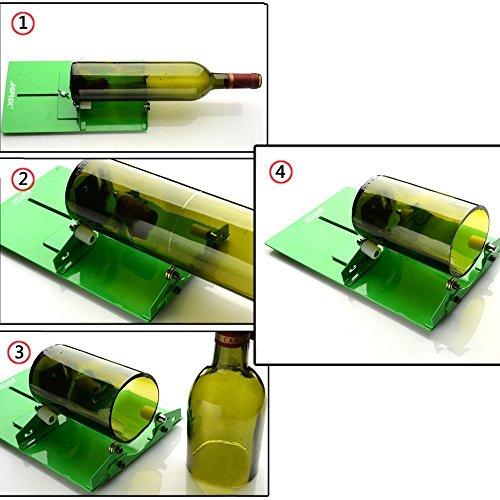 Un coupe bouteille : pour recycler ses bouteilles en verre