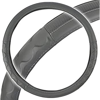 """RVs and Utility Vehicles Buses Grand General 54036 Deluxe Series 18/"""" Heavy Duty Steering Wheel Cover for Trucks"""