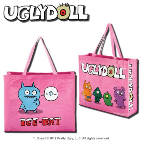 UglyDoll Pink Ice-Bat Shopping Bag For Sale