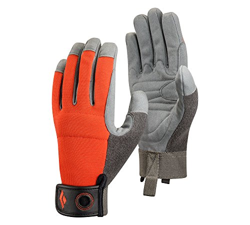 Black Diamond Crag Gloves, Octane, Medium (Belay Glove)