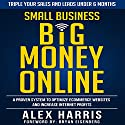 Small Business Big Money Online: A Proven System to Optimize eCommerce Websites and Increase Internet Profits Audiobook by Alex Harris Narrated by Paul Colaianni
