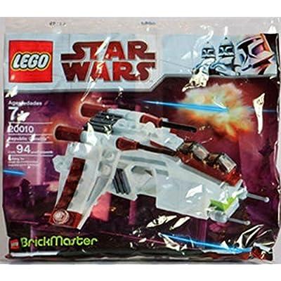 LEGO Star Wars BrickMaster Exclusive Mini Building Set #20010 Republic Attack Gunship [Bagged]: Toys & Games