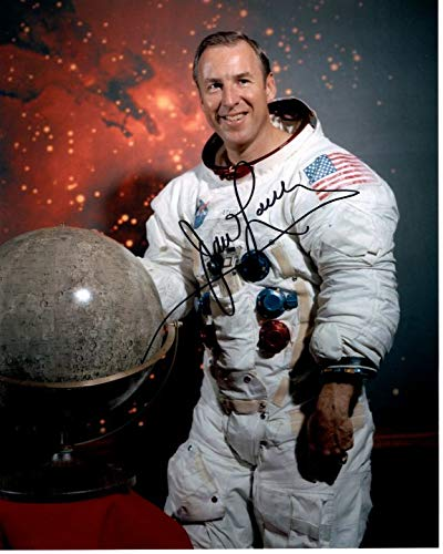 JIM LOVELL signed autographed NASA ASTRONAUT photo