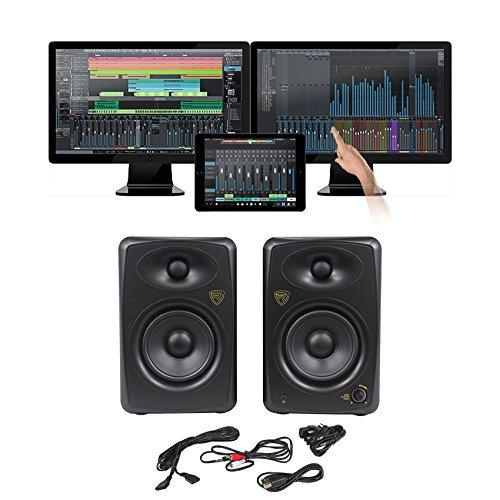 Presonus Studio One 3.0 Pro Audio MIDI Recording DAW Software+2) Studio Monitors