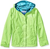 Columbia Little Girls' Arcadia Jacket, Jade Lime, XS