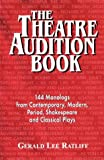 The Theatre Audition Book, Gerald Lee Ratliff, 1566080444