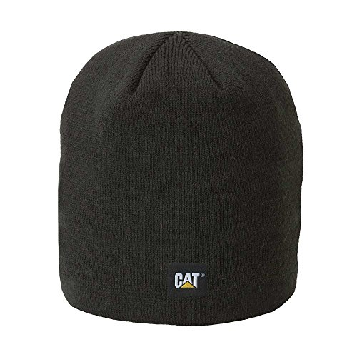 Caterpillar Men's Logo Knit Cap, Black, One Size