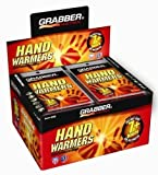Grabber 7+ Hour Hand Warmers New Mega Size Package 80 Pairs