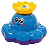 Tonor lustig Baby Kinder Badespielzeug Badewanne Wasserspielzeug Dusche Rotierend Wasserspritz Krake für Entwicklung Badespaß Badefreunde Kindergeschenk