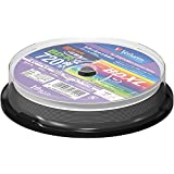 10 Verbatim Bluray 100gb BD-R XL Triple Layer 4x Speed Blu-ray Inkjet Printable Discs