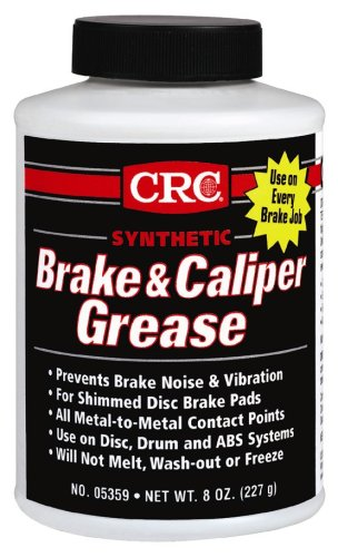 CRC 05359 Brake Caliper Synthetic Grease - 8 Wt Oz by CRC