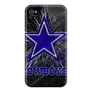 Best Hard Cell-phone Case For Iphone 4/4s With Customized Realistic Dallas Cowboys Image JasonPelletier