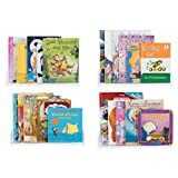 Wallniture Nursery Bookshelf - Picture Ledges - Wall Mounted Invisible Floating Shelf for Kids Room 17 Inch Set of 4