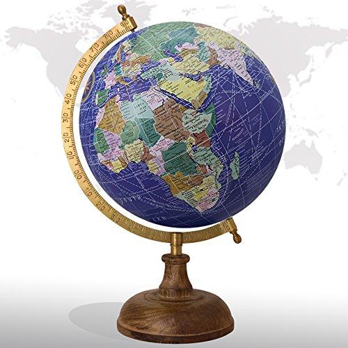 Desktop Rotating Globe Georgraphy World Map Royal Blue 8
