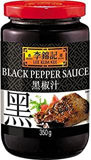 Lee Kum Kee Salsa de Pimienta - 3 Paquetes de 350 gr - Total: 1050