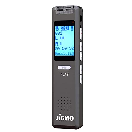 Amazon.com: Dispositivo de grabación de voz activada para ...