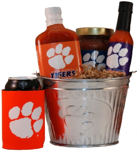 Clemson University Tailgate Grilling Gift Basket - Small