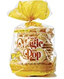 Kim's Magic Pop Cheddar Cheese Flavor 6-Pack: Freshly Popped Rice Cakes, Healthy Grain Snack, 0 Weight Watchers Point