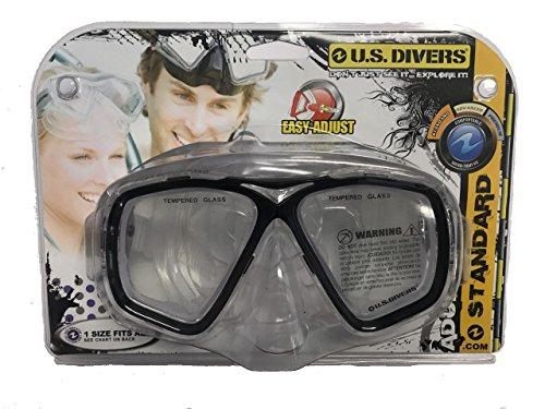 (Sejati Environmental Trading Company Inc. US Divers Acapulco Mask Black Snorkeling 277515)
