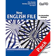 New English File: Pre-Intermediate Workbook with MultiROM Pack
