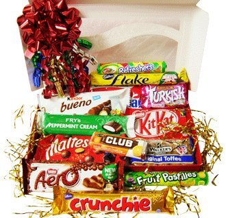Amazon.com : British Sweets Christmas Gift Box : Gourmet Candy Gifts ...