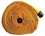 Attack Line Fire Hose, Rubber, 400 psi