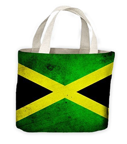 Tote Life For Shopping Bag Flag Jamaican XYwxq5aX