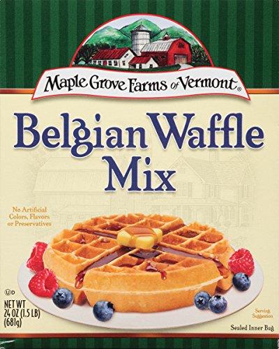 Maple Grove Farms Belgian Waffle Mix, 24 Ounce