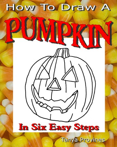 How To Draw A Pumpkin In Six Easy Steps (Halloween Pumpkin Drawing Step By Step)