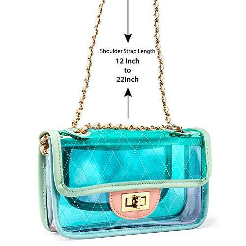 e8fe918cd52d Jual OCT17 Women Transparent PVC Plastic Cross body Durable Summer ...
