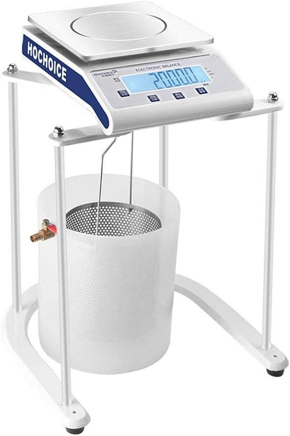 LYC Laboratorio Balanza Electrónica Hidrostático Mecánica Equilibrar 0.1g 0.001g Pantalla Digital Escalas Digitales con Apoyo por Prueba De Densidad (Size : 2000g/0.1g)