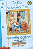 Summer School, Ann M. Martin, 0590692046