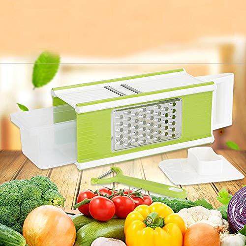 HAI+Vegetable Potato Slicer Grater - Cutter for Tomato, Onion, Cucumber, Zucchini Pasta,dicing machine