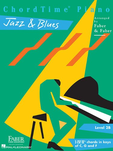 ChordTime  Jazz & Blues: Level 2B (Chordtime Piano)