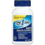 One A Day Men's Health Formula Multivitamin, 200 Count