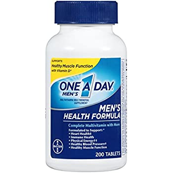 One A Day Men's Health Formula Multivitamin, 200 Count