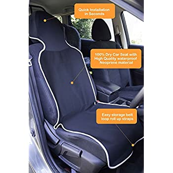 old nobby neoprene car seat cover waterproof removable machine washable premium. Black Bedroom Furniture Sets. Home Design Ideas