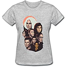JuDian Sense8 Tv Art T shirt For Women