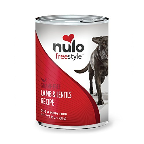 Nulo Grain Free Canned Wet Dog Food (13 oz, Lamb) - 12 Cans