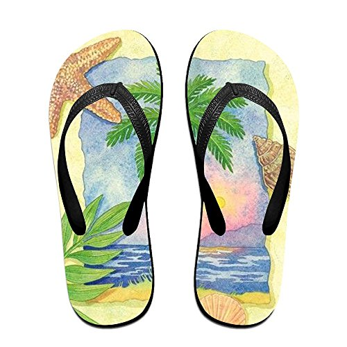 Women Time Flip Beach Men Kids PTJHKET Slippers Flops for RqPTn4pv4