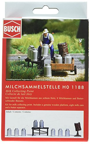 - Busch 1188 Milk Collecting Point HO Scenery Scale Model Scenery