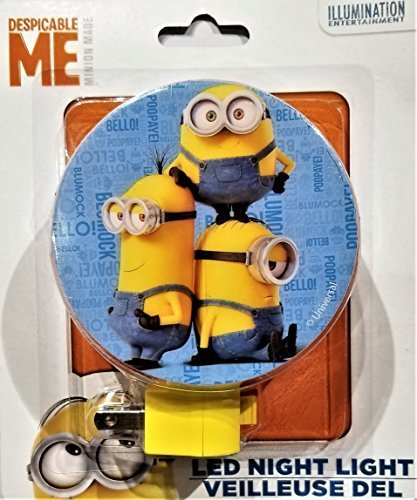 Despicable Me Minion Made Night Light - 1 LED Night -